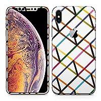 igsticker iPhone Xs Max アイフォン 全面スキンシール フル 背面 側面 正面 液晶 ステッカー 保護シール スマホ スマートフォン