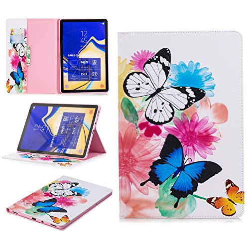 Ratesell Galaxy Tab S4 10.5 2018ケース 財布ケースカバー PUレザー マグネット式 フリップフォリオ かわいいスタンド 自動スリープ/ウェイク Samsung Galaxy Tab S4 10.5 SM-T830 (Wi-Fi); SM-T835 (LTE) M-F-LEAT835-CAIDIE