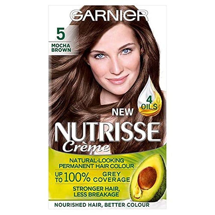 羊飼いリンクトラクター[Nutrisse] 5茶色の永久染毛剤Nutrisseガルニエ - Garnier Nutrisse 5 Brown Permanent Hair Dye [並行輸入品]