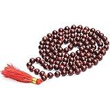 HealthGoodsAU - Meditation/Japa Rosewood Beads Mala with 108 + 1 Beads (8-9 mm Sized Beads) - Pack of 1 Mala