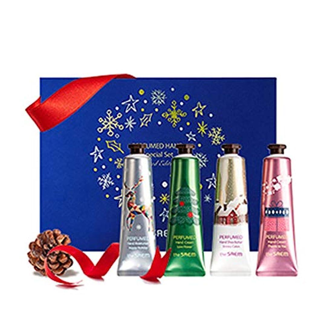 【theSAEM】[ザセム][2018 Limited Edition]Perfumed Hand Special Set パフュームハンドスペシャルセット[30mlx4][韓国コスメ] [並行輸入品]