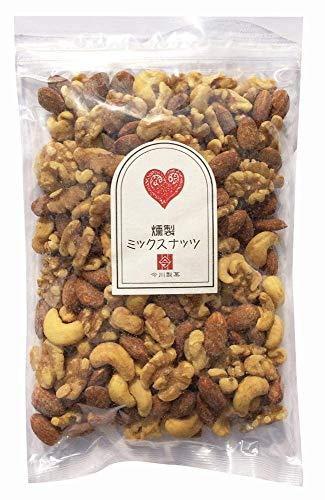 燻製ミックスナッツ 380g くるみ カシューナッツ アーモンド 国産桜チップ使用