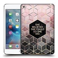 オフィシャルElisabeth Fredriksson Believe 2 タイポグラフィ iPad mini 4 専用ソフトジェルケース