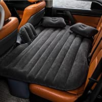 Kilolone 車中泊エアマットインフレータブルマットレス 後部座席用 SUV/MPV/セダン車専用 アウトドア キャンプ ビーチ 収納便利 分離可能な 多機能 3色のオプション ブラック