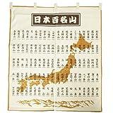 日本百名山[インテリア 雑貨]のれん エイコー トレッキング 登山 グッズ 通販