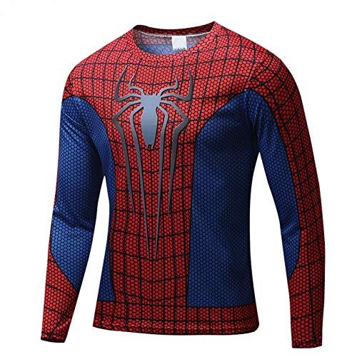 【ec-drive】スパイダーマンTシャツ 3Dプリント お...