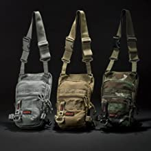 Flight Light Drop Pouch: Foliage, Coyote, Woodland Camo
