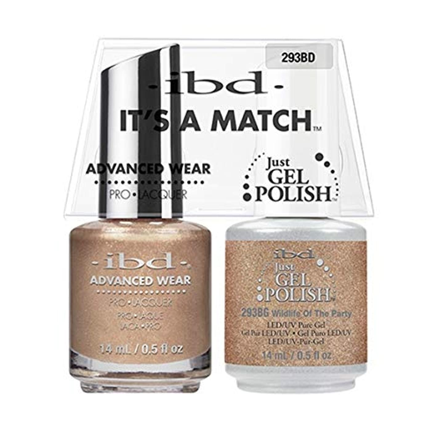 一緒に沿って均等にibd - It's A Match - Duo Pack - Serengeti Soul Collection - Wildlife Of The Party - 14ml / 0.5oz each