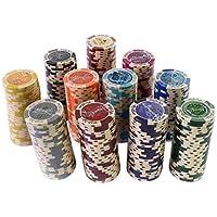 ポーカーチップ カジノチップ 100枚 セット ケース付き 14g 本格プロ仕様 MGC JAPAN TRADE (14g 100枚セット)
