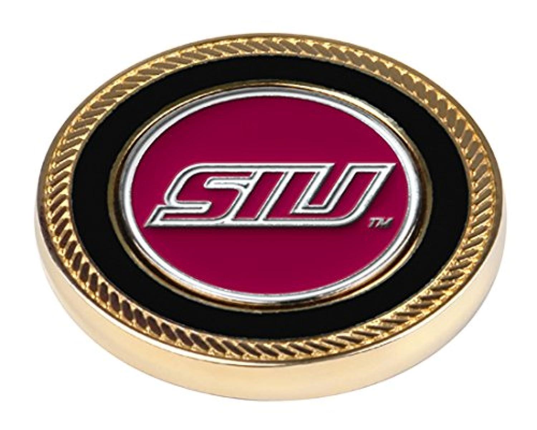 カジュアル近所の国民NCAA Southern Illinois Salukis – Challenge Coin / 2ボールマーカー