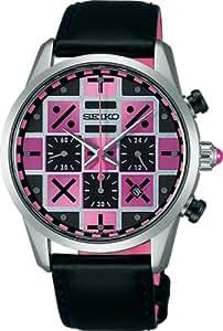 [セイコーウォッチ]SEIKO WATCH 腕時計 SPIRIT SMART スピリットスマート ジョジョの奇妙な冒険コラボレーション限定モデル TRISH ソーラー サファイアガラス 日常生活用強化防水 (10気圧) 【数量限定】 SBPY103 メンズ