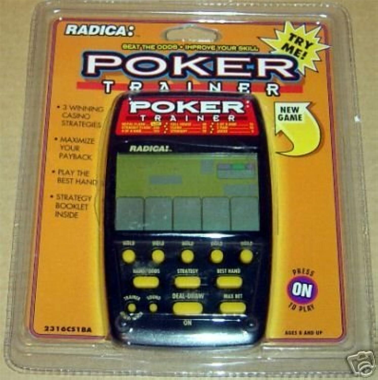 Radica Poker Trainer Electronic Handheld Game [並行輸入品]