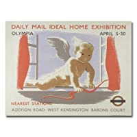 Trademark Fine Art Home Exibition at Kensington Olympia, 1938 キャンバスウォールアート 18 by 24-Inch BL00236-C1824GG