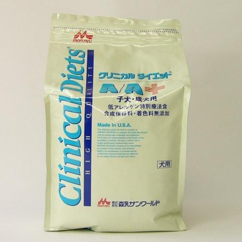 森乳サンワールド クリニカルダイエット A/A 子犬・成犬用 3.5kg 低アレルゲン特別療法食