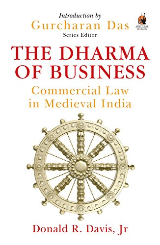 The Dharma of Business: Commercial Law in Medieval India