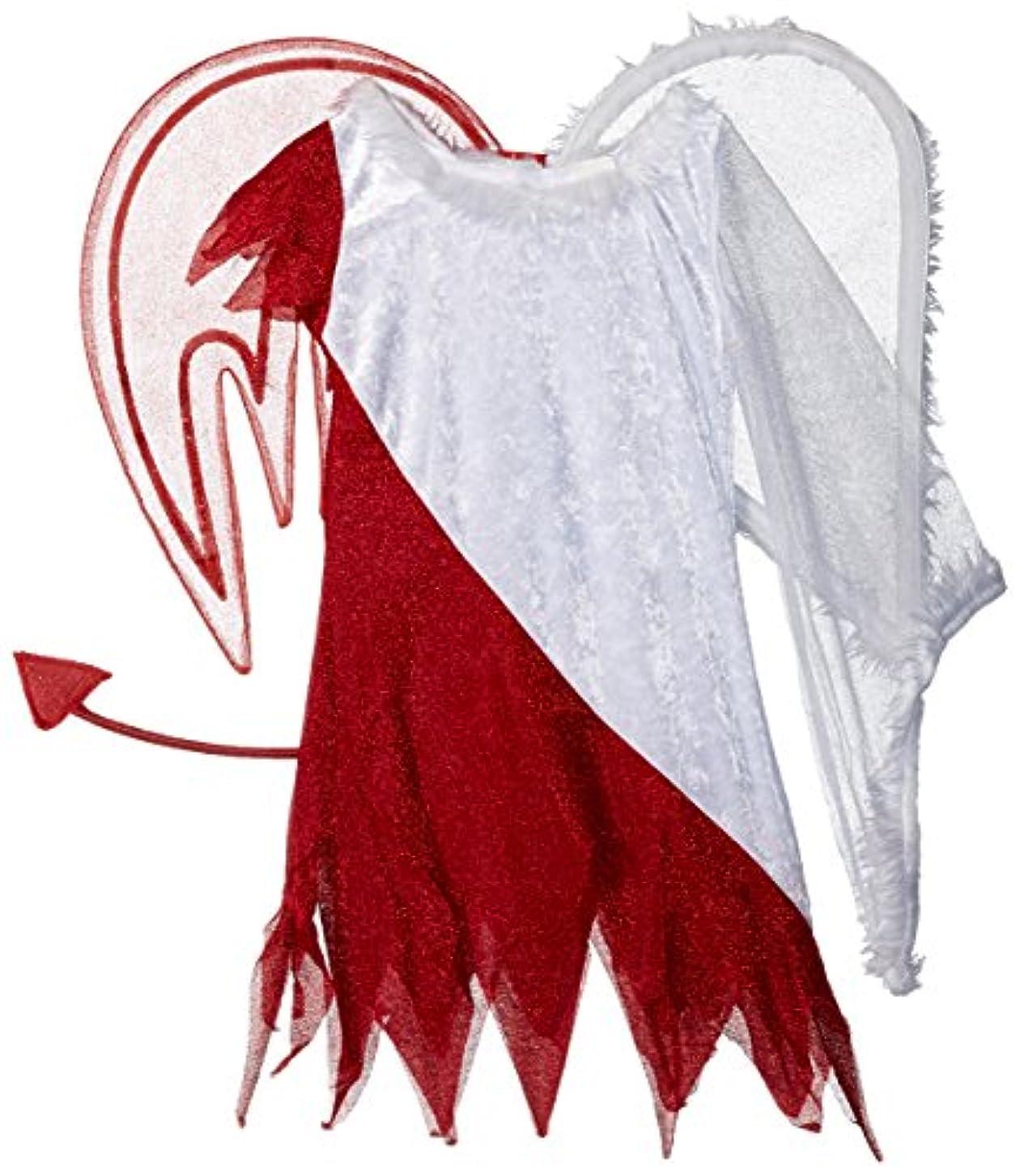 地下コスチュームヒギンズHeavenly Devil Child Costume Heavenly Devil Child Costume 天国の悪魔のチャイルドコスチューム?ハロウィン?サイズ:7/8