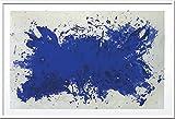JIG アートポスター イヴ・クライン Hommage a Tennessee Williams,1960(Silkscreen) IYK-14371
