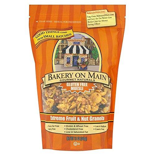 Bakery on Main Extreme Fruit & Nut Gluten Free Granola (340g) メイン極端なフルーツとナッツグルテンフリーのグラノーラ上のパン屋( 340グラム)