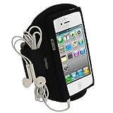 (アイガジェッツ) iGadgitz 防水仕様のネオプレーン素材の Apple iPhone 5 5S 5C 4G LTE 携帯用アームバンド ブラック スポーツ - Best Reviews Guide