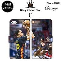 BRAVE CROWN t006 iPhone XS Max XR X 8 7 6s 6 plus プラス SE 5s 5 手帳型 スマホ ケース Xperia Galaxy 全機種対応 ダイアリー ブランド グッズ バスケットボール NBA ステフィン カリー CURRY ゴールデンステート ウォリアーズ ロゴ エンブレム マイケル ジョーダン