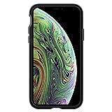 【Spigen】 スマホケース iPhone XS ケース/iPhone X ケース 5.8インチ 対応 二重構造 米軍MIL規格取得 耐衝撃 ネオ・ハイブリッド 063CS24918 (ガンメタル)
