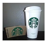 Starbucks再利用可能なプラスチックタンブラーRecyclable Mug Grandeコーヒーティーカップ新しい