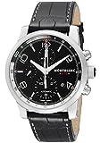 [モンブラン]MONTBLANC 腕時計 TIME WALKER UTC ブラック文字盤 自動巻 アリゲーター革 107336 メンズ 【並行輸入品】