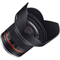 Samyang sy12m-fx-sil 12mm f2. 0超広角レンズfor Fujifilm x-mountカメラ
