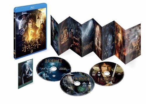 ホビット 思いがけない冒険 Blur-ray & DVD (3枚組)(初回限定生産) [Blu-ray]の詳細を見る