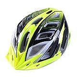 [AMANGU] サイクリング ヘルメット 大人用 MTB 高剛性 快適 超軽量 保護 21穴通気 防虫ネット付き 調節可能 頭囲57〜62CM クロスバイク 自転車 春夏用 通勤 スポーツ アウトドア グリーン