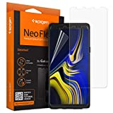 【Spigen】 Galaxy Note9 フィルム 2枚 全面液晶保護 TPUフィルム 599FL24732 (ネオ・フレックス)