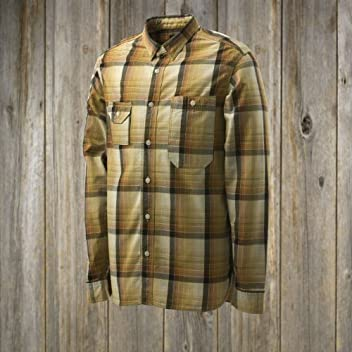 40s Work Check Shirt SN-12SS-18: Yellow