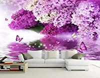 Minyose 壁紙 現代のカスタム壁紙3D高級ダイヤモンドの花ヨーロッパのジュエリーテレビの背景の壁紙3Dの壁紙