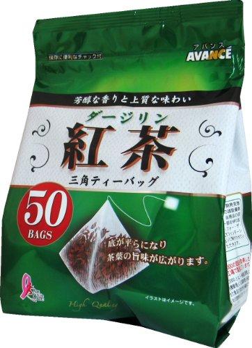 アバンス ダージリン紅茶 三角ティーバック 2g×50