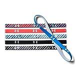 [アンダーアーマー] グラフィックミニヘッドバンド6パック(ヘッドバンド/6本パック) 1286897 レディース MARLIN BLUE/ABSINTHE GREEN/WHITE 日本 ONESIZE-(FREE サイズ)
