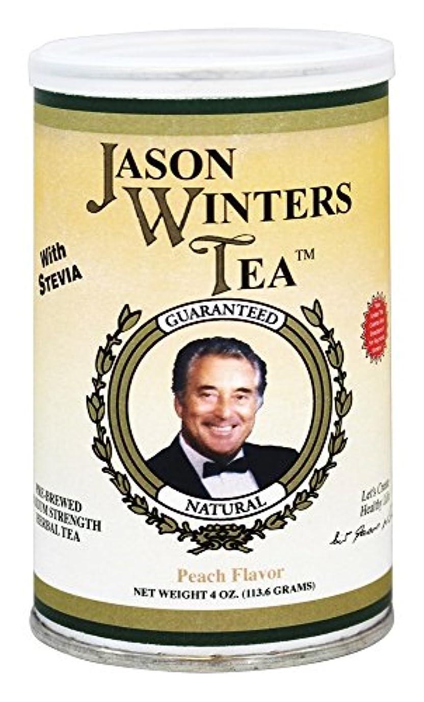 洪水プラスチックキャロライン海外直送肘 Pre-Brewed Tea with Stevia, Peach 4 Oz