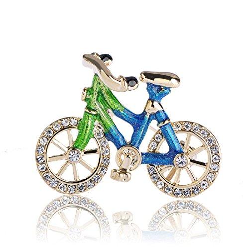 [해외]MECHOSEN 귀여운 여성 남성 아동용 자전거 체 린코 브로치 클립 핀 어머니의 날 아버지의 날 인기 선물 선물 패션 스카프 핀 설치 핀 유니폼 핀 가방 핀/MECHOSEN cute ladies men`s children bicycle chalinko brooch clip pin mother`s day father...
