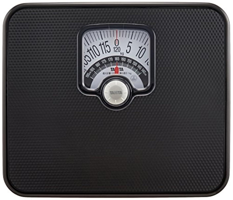 シチリア我慢するひばりタニタ 体重計 アナログ ブラック BMIチェッカー付き HA-552 BK