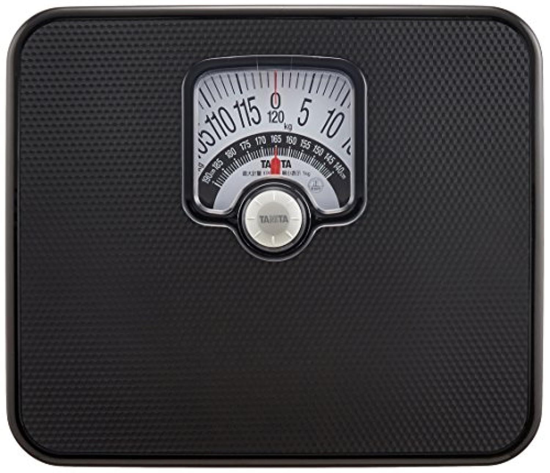 タニタ 体重計 アナログ ブラック BMIチェッカー付き HA-552 BK
