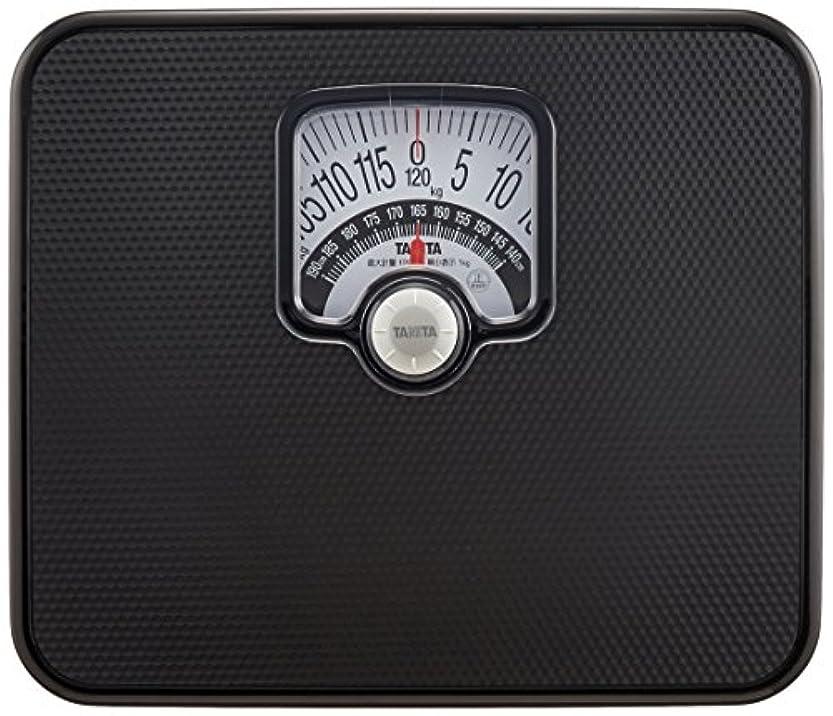 借りるタップアイスクリームタニタ 体重計 アナログ ブラック BMIチェッカー付き HA-552 BK
