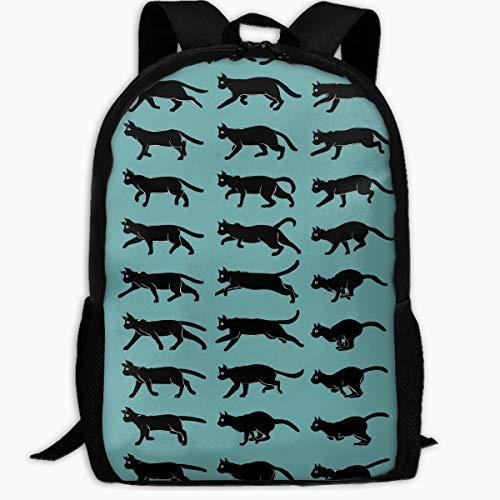 猫 動物 可愛い 黒い バックパック 登...