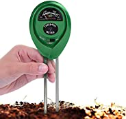 Soil pH Meter (No Battery Needed), JOYAUS Soil Moisture Meter,3 in 1 Soil Test Kit Gardening Tools for PH, Lig