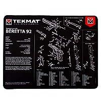 TekMat ハンドガン ウルトラ20 プレミアム ベレッタ 92 クリーニングマット ブラック
