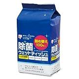 アイリスオーヤマ 除菌ウェットティッシュ詰替用アルコール RWT-AT100 00029803 【まとめ買い10個セット】