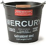 MERCURY マーキュリー ブリキバケツ ゴミ箱 MATT BLACK マット ブラック