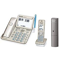 パナソニック デジタルコードレス電話機 子機1台付き 迷惑防止機能搭載 シャンパンゴールド VE-GD76DL-N + ドアセンサー 1個入 ECID30A セット