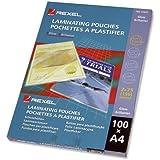 REXEL 41621 Laminating Pouch,A4 75 Micron PK100
