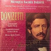 Donizetti;Unpub.Sacred Mus3