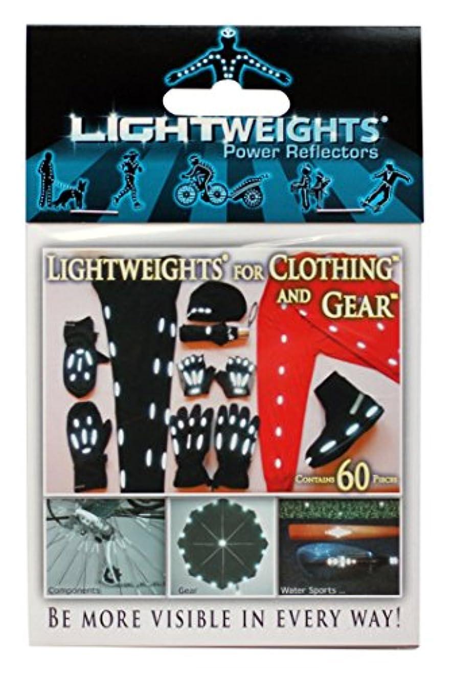 外科医あざ犯すLightweights Power Reflectors for Clothing (60-Piece) by Light Weights