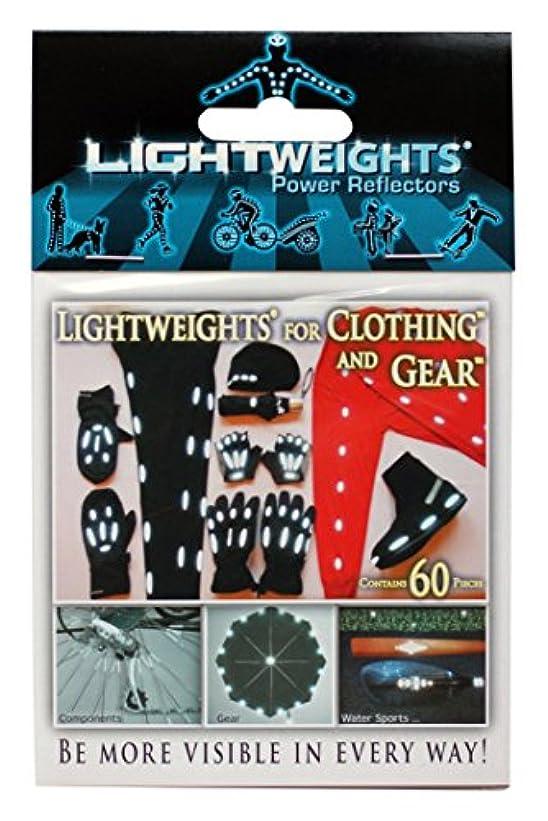 オートマトンクリーナー肉Lightweights Power Reflectors for Clothing (60-Piece) by Light Weights